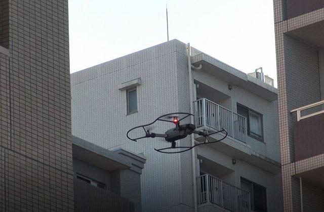 ドローン眺望調査(都会1)