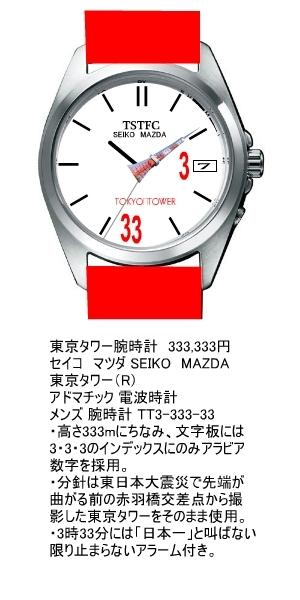 東京タワー腕時計 18,900円
