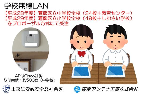 学校無線LAN